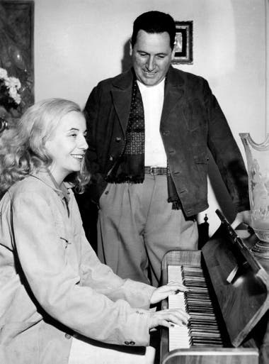 Eva y Juan Perón