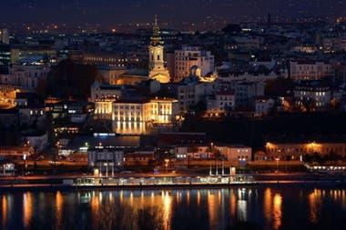 Belgrado de noche.