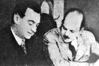 El diputado Agustín Rodríguez Araya (derecha) fue el presidente de la comisión investigadora de la Lotería Nacional