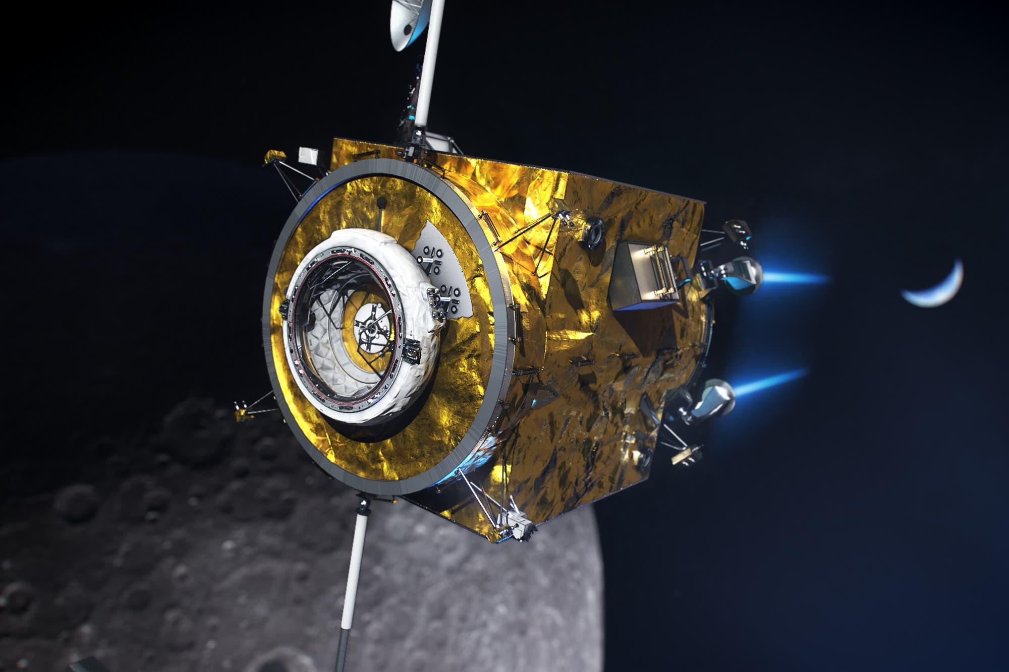 Este es el propulsor eléctrico que utilizará la NASA para llegar a la Luna