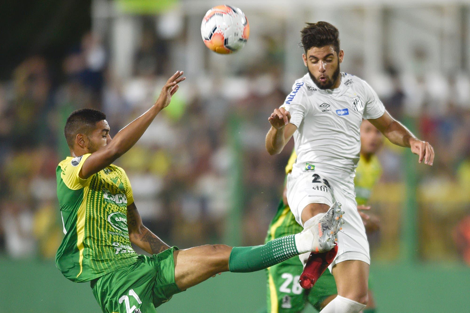 Defensa y Justicia-Santos, por la Copa Libertadores: El Halcón gana en su debut en el torneo