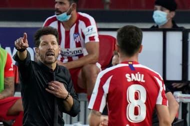 El Atlético Madrid de Diego Simeone quiere continuar con su buena racha en la Liga de España