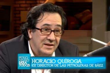 """""""Tengo miedo por mi seguridad"""", había dicho Quiroga, el ejecutivo de Báez, a Elisa Carrió"""