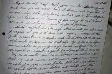 Elizabeth escribió en su diario íntimo todos los momentos dolorosos que vivió y cómo decidió escapar