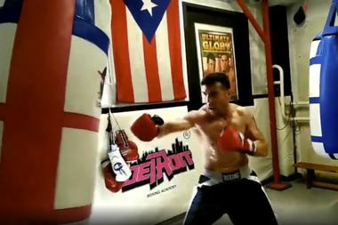 """Antes de la pandemia, Sergio """"Maravilla"""" Martínez ya estaba entrenando en un gimnasio"""