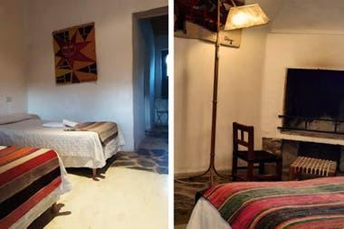 Los cuartos, en suite con el estilo norteño y detalles de confort