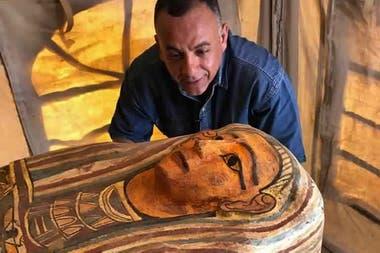 Desde el Ministerio de Turismo y Antigüedades de Egipto, confirmaron que los sarcófagos se encuentran bien conservados.