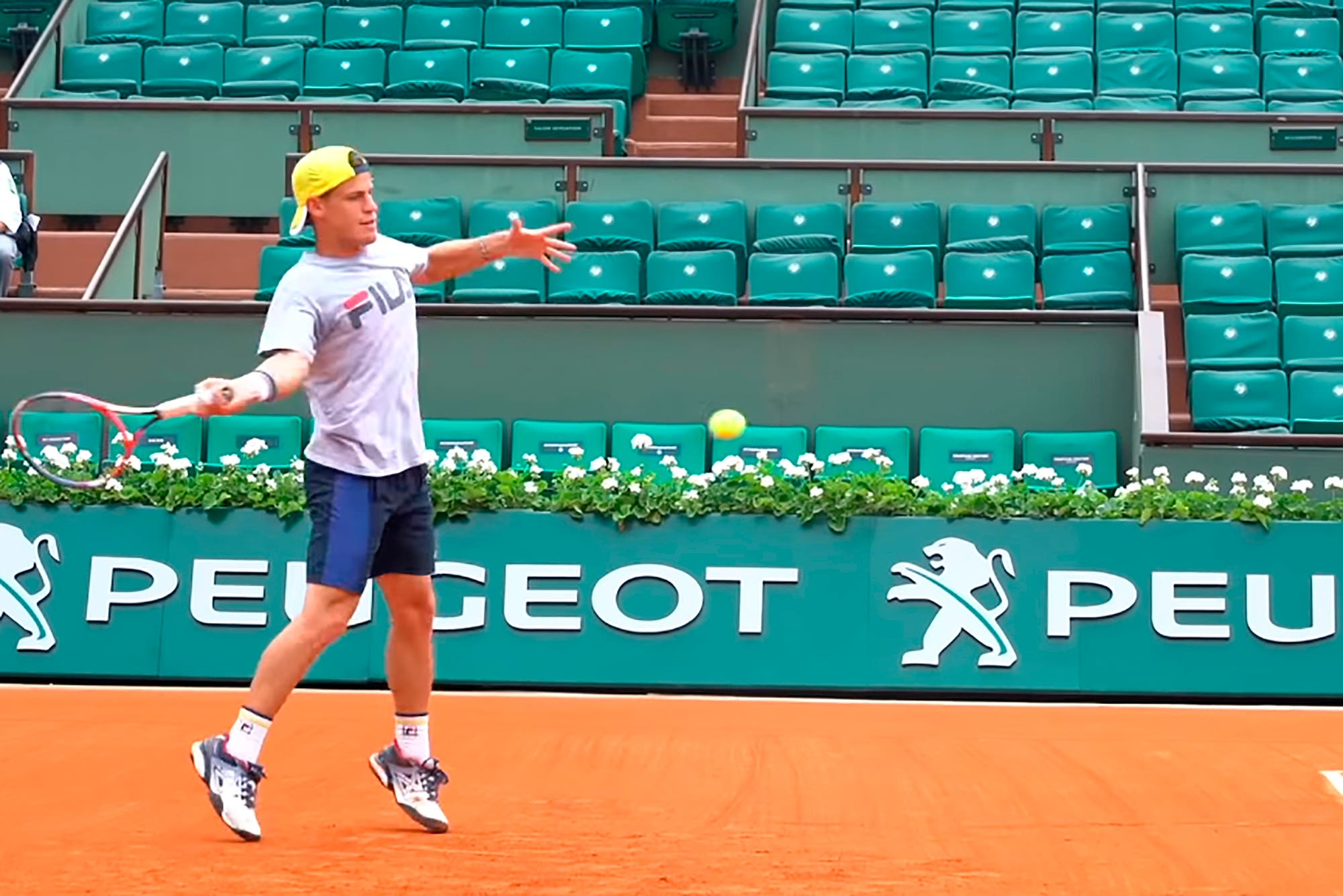 """Roland Garros. El sueño de Diego Schwartzman: """"Llegar al Top 10 es otra de las barreras que tengo que quebrar"""""""