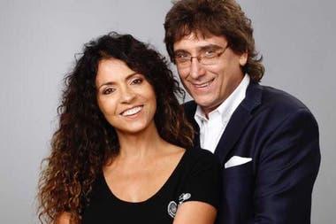 Mediavilla junto a su esposa, Patricia Sosa