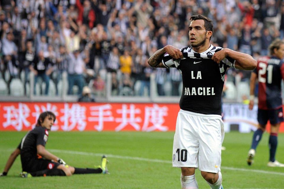 Carlos Tevez marcó en el triunfo de Juventus 03d4ce4e35e1c