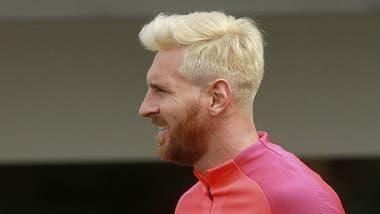 Nuevo corte de pelo de leo messi