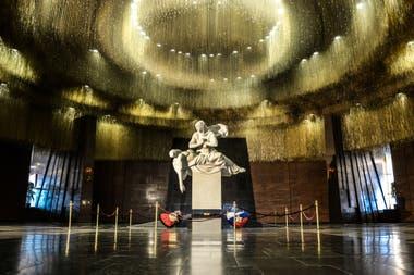 Salón del Recuerdo y la Tristeza en el Museo de la Guerra Patria