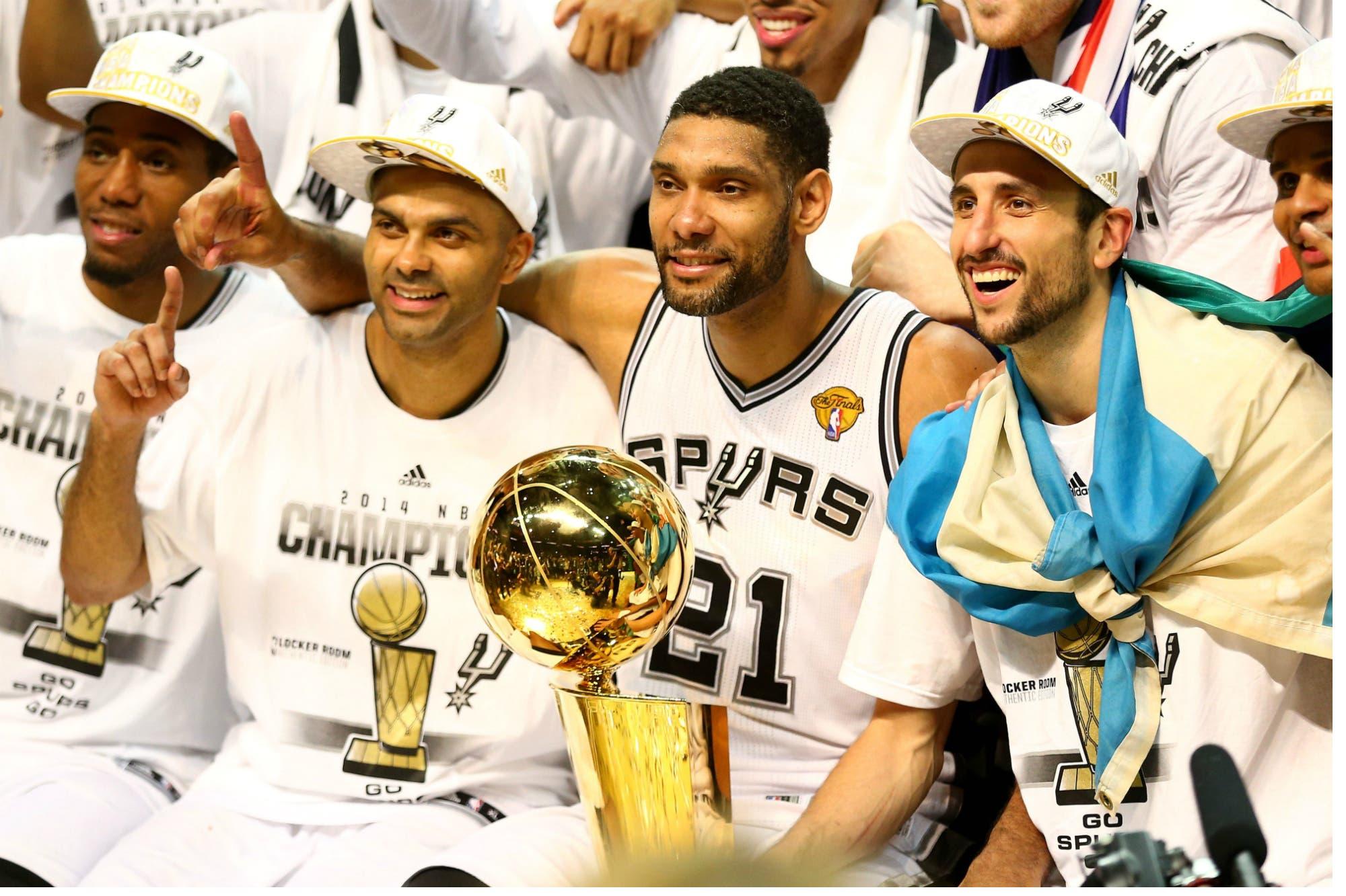 El final de un ciclo brillante: Tony Parker se va de San Antonio Spurs y deja solo a Manu Ginóbili