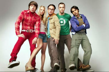 Jim Parsons junto al elenco inicial de The Big Bang Theory