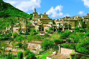 Las alturas de Valldemossa, en la parte occidental de la isla