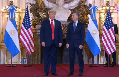 Macri received Trump in the Casa Rosada to strengthen the bilateral relationship