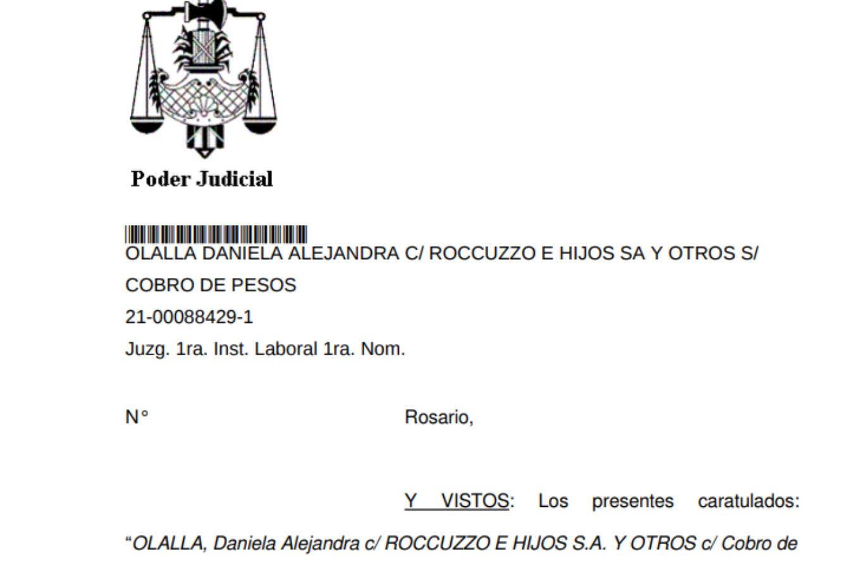 El padre de Antonela Roccuzzo tendrá que pagar dos millones de pesos por una demanda de una empleada