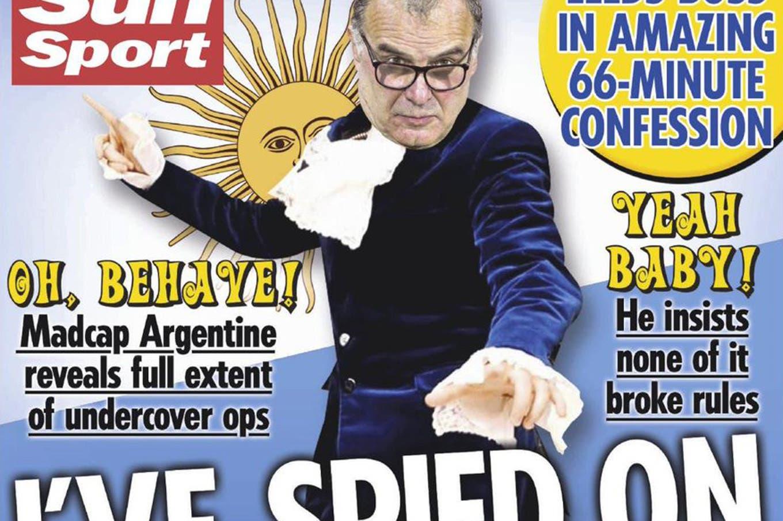 """""""The Spymaster"""" y Bielsa en modo Austin Powers: las tapas de los diarios británicos hablan del DT de Leeds"""