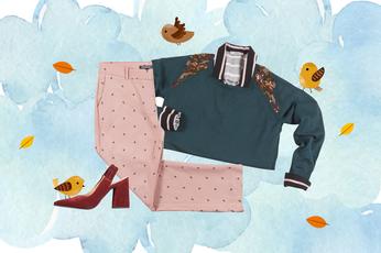 Looks de otoño: tiempo de tejidos