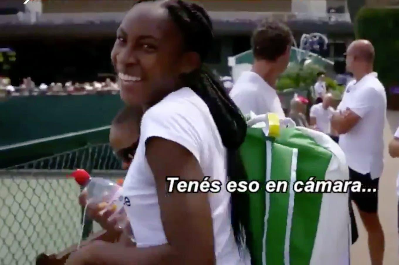 El saludo de Roger Federer a la gran sensación del tenis femenino en Wimbledon