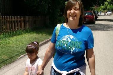 Verónica y su hija