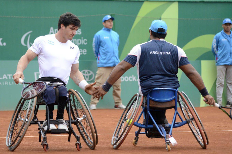 Juegos Parapanamericanos de Lima: Gusti Fernández y Ledesma ganaron el oro en tenis adaptado