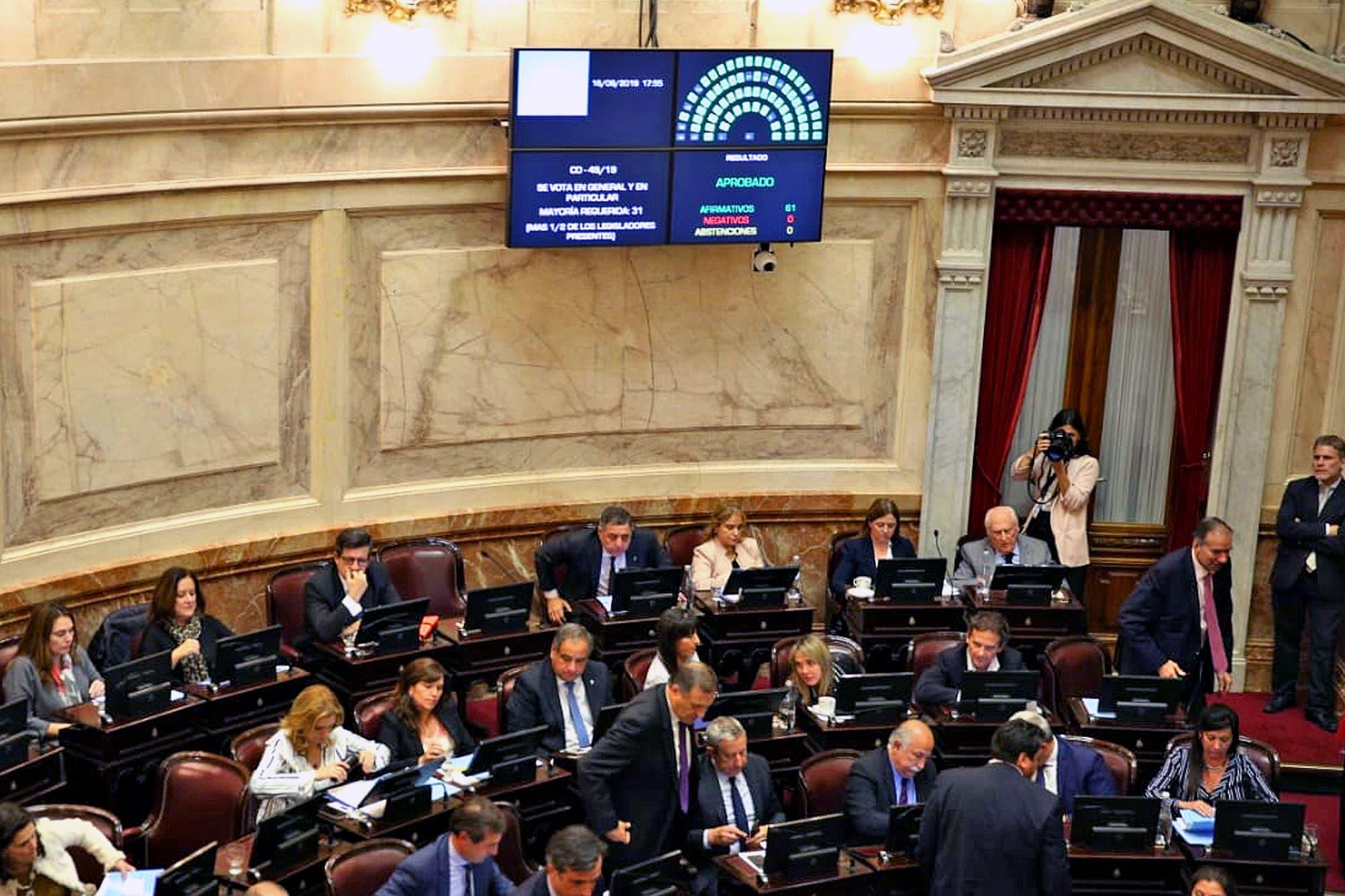Por unanimidad, el Senado prorrogó la emergencia alimentaria