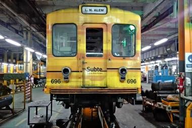 El Metro de Madrid le vendió a la Ciudad vagones con asbesto
