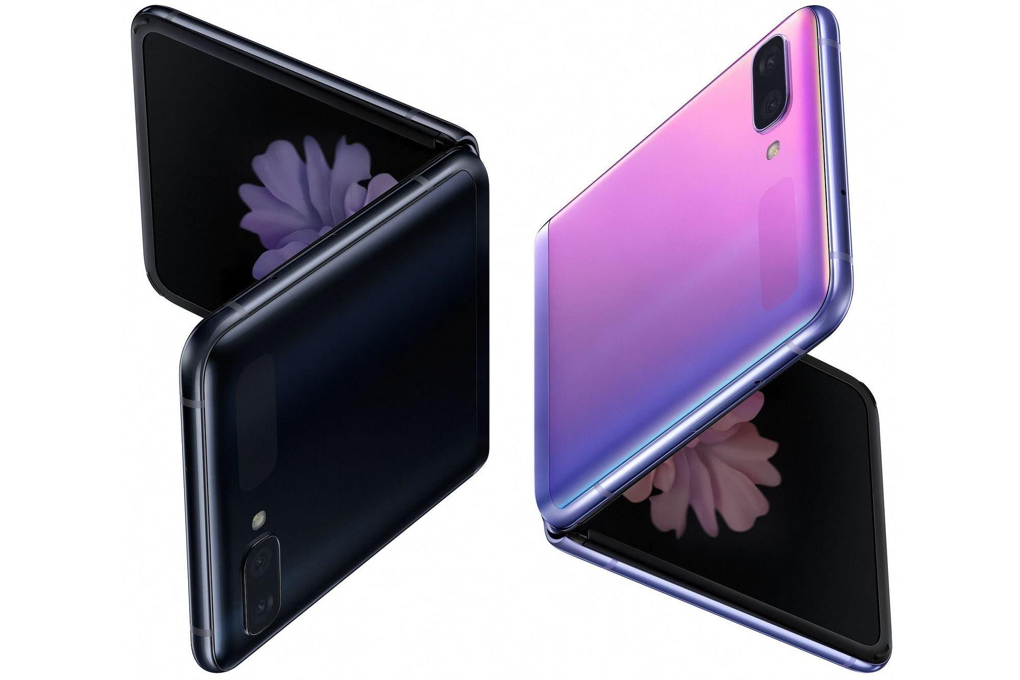 Galaxy Z Flip: primeras imágenes del smartphone flexible competidor del Moto Razr