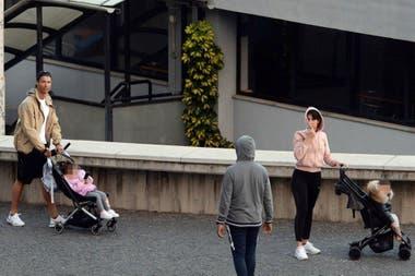 Cristiano fue descubierto por las calles de Funchal este domingo