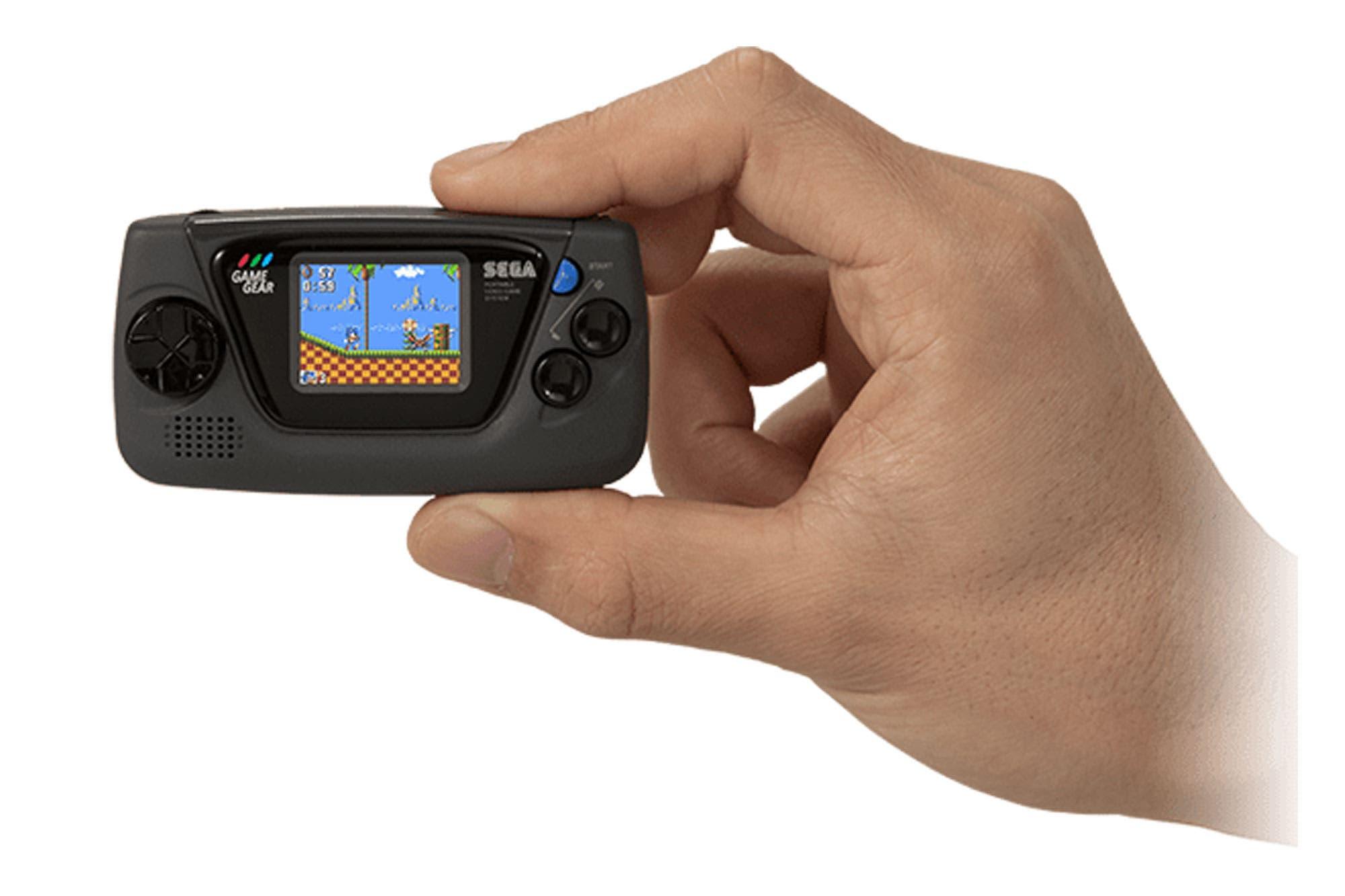 Game Gear Micro: Sega revive su consola retro portátil con un diseño compacto