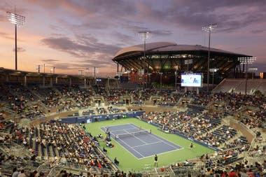 El Grandstand de Flushing Meadows, el estadio que se utilizará como el principal en el torneo de Cincinnati, previo al US Open.
