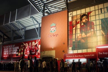 The details of the Liverpool stadium in FIFA 21