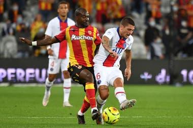 Verratti, uno de los habituales titulares de PSG que estuvo presente en el debut en la liga francesa