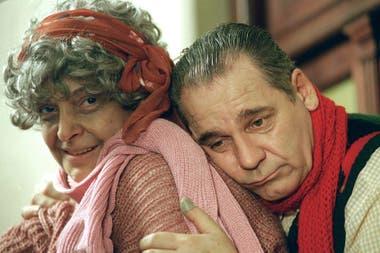 El inquietante caso de José Blum, con Cipe Lincovsky, en 1996