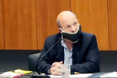 El abogado Rubén Pagliotto, que pide la restitución del campo