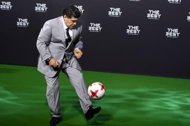 En 2017 asistió a la entrega de premios de la FIFA