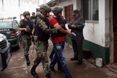 El narcotraficante Farfán al ser recapturado