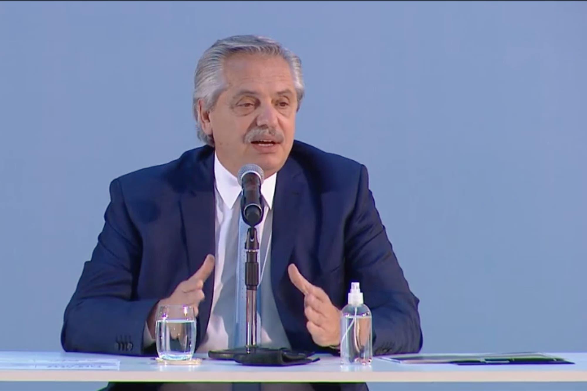 """Alberto Fernández, ante empresarios: """"Si eliminamos los odios y las venganzas, las posibilidades son mejores"""""""