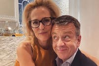 Gillian Anderson y Peter Morgan, el fin de un romance en paralelo a The Crown