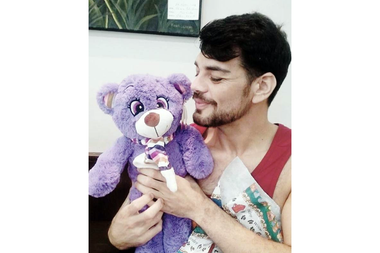 Sagitariano, Fran Mariano compartió una imagen de su cumpleaños en su cuenta de Instagram