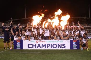 Brumbies, campeón del Super Rugby AU 2020, en Australia