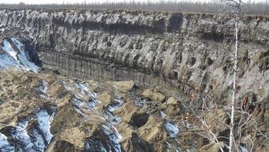 Las altas temperaturas aceleran el crecimiento del cráter