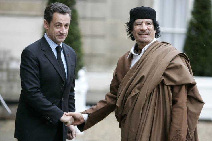 Está sospechado de haber recibido en forma ilegal dinero de Libia para su campaña de 2007