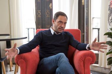 Maximiliano Ferraro, jefe del bloque de diputados de la Coalición Cívica