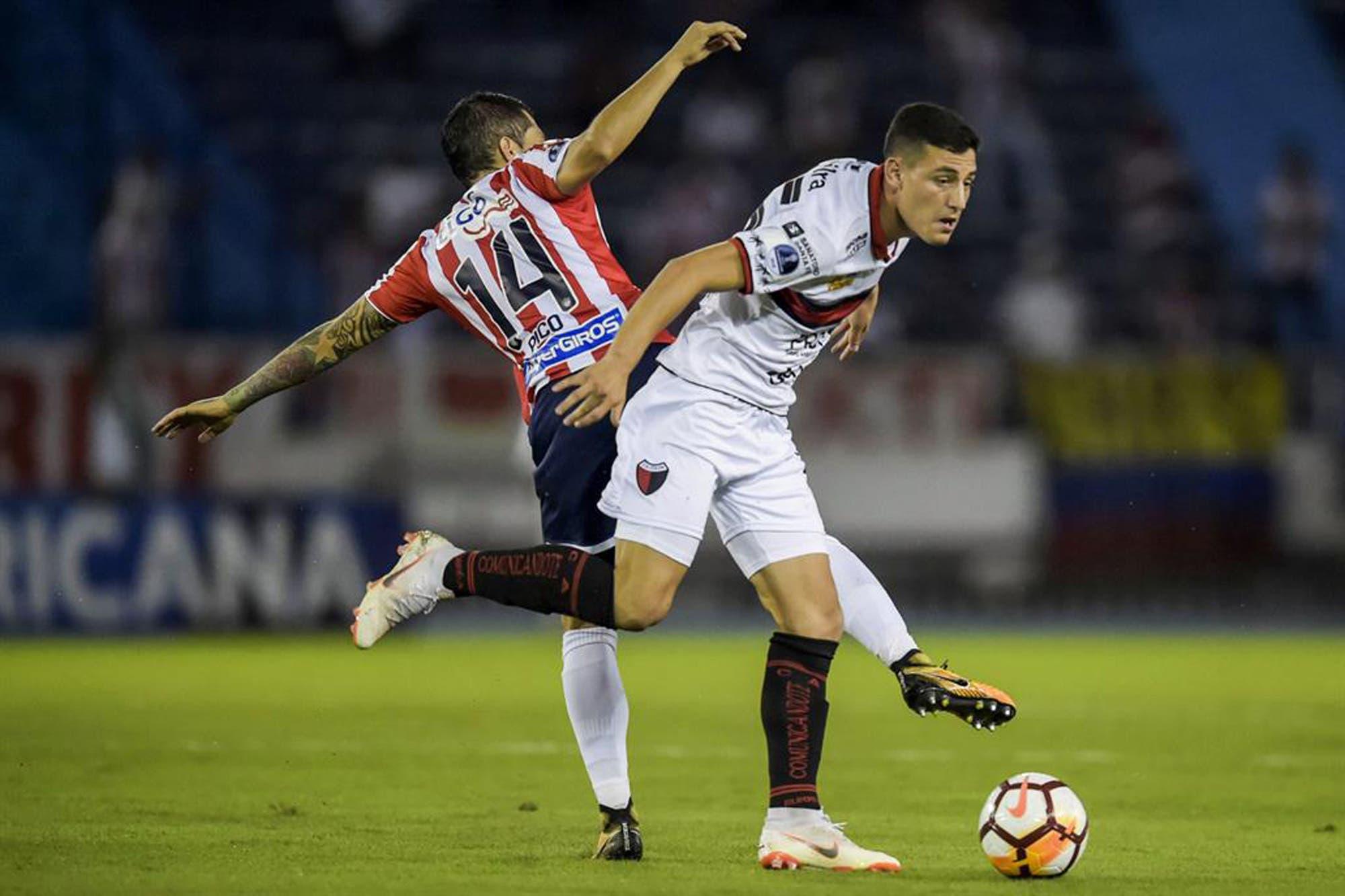 Colón-Junior, Copa Sudamericana: horario, TV y formaciones