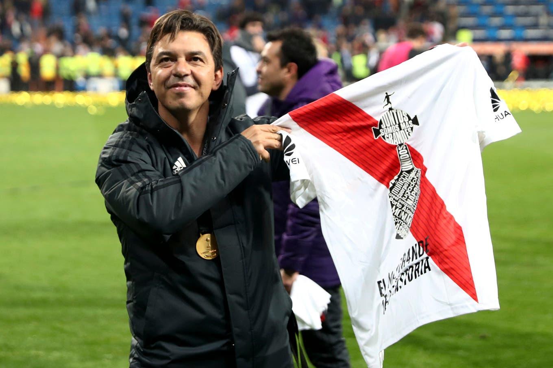 River campeón de la Copa Libertadores: las mejores fotos de un festejo de Madrid a la Argentina