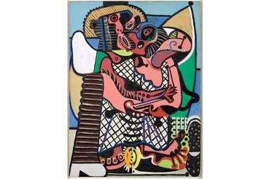 """Pinturas, esculturas y más obras del genio de Málaga se expondrán en Montevideo; el diálogo con Torres García y la programación de un semestre centrado en su figura (""""El beso"""", Pablo Picasso, 1925)."""