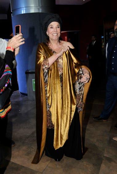 Se estrenó El cuento de la comadreja y, claro, Graciela Borges acaparó todos los flashes