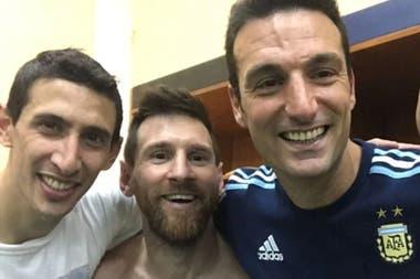 Scaloni contará con Di María y Messi para esta convocatoria